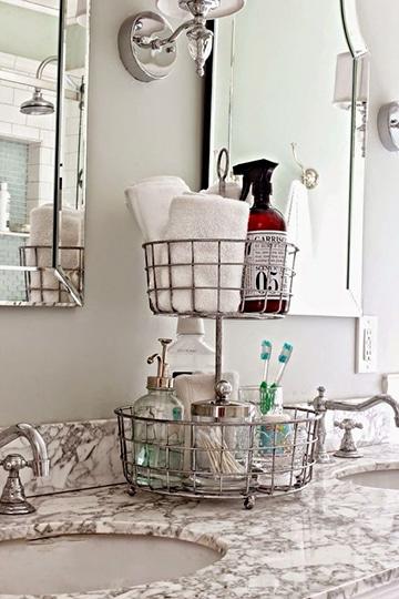 adornos para baños pequeños y sencillos