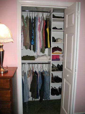 armarios para habitaciones pequeñas empotrado