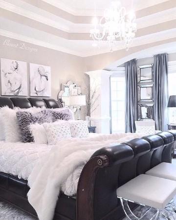 colores de dormitorios matrimoniales elegantes