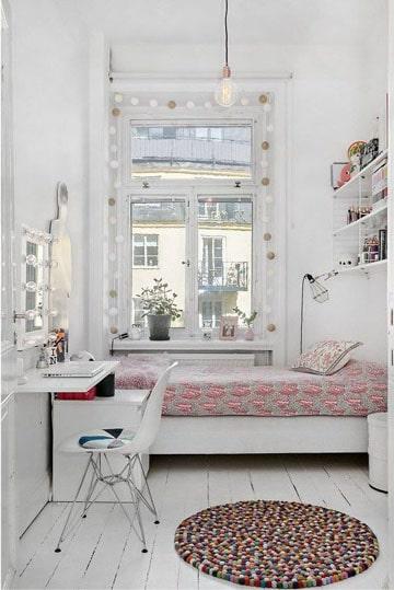 como amueblar una habitacion pequeñas sencilla