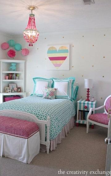 como decorar un cuarto de mujer joven