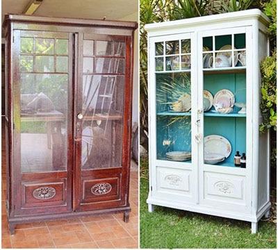 Toma esta idea de como pintar un mueble antiguo for Muebles antiguos reciclados