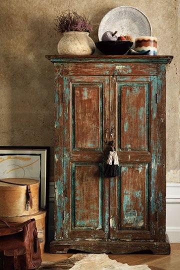 Toma esta idea de como pintar un mueble antiguo como for Como pintar muebles antiguos