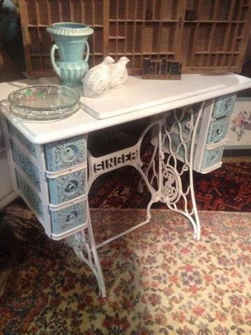 Toma esta idea de como pintar un mueble antiguo como - Como pintar muebles antiguos ...