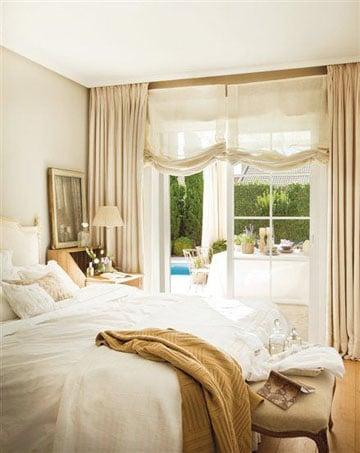 cortinas para recamara principal clasicas