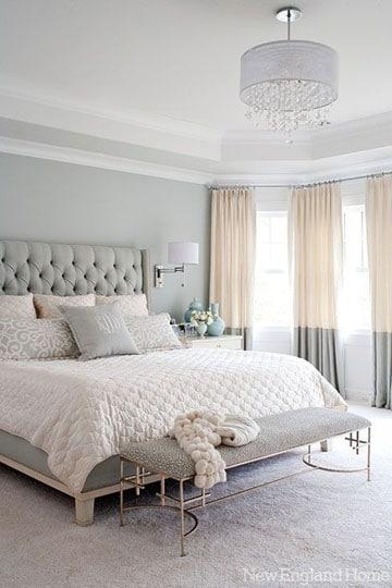 cortinas para recamara principal colores claros