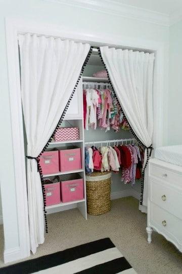 cuartos de bebes niña elegante