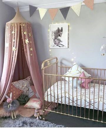 Modernos y sofisticados cuartos de bebes niña