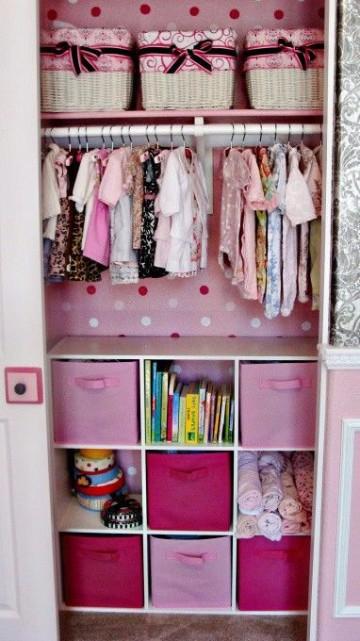 cuartos de bebes niña rosa