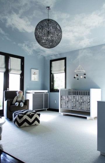 cuartos para bebes varones modernos