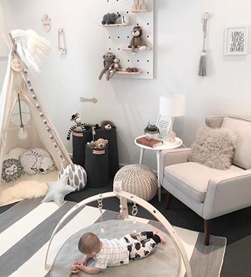 Fotos y dise os de cuartos para bebes varones for Cuarto de nino recien nacido