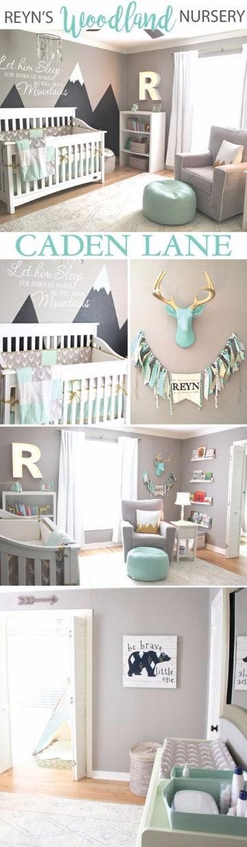 cuartos para bebes varones y niños