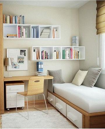 cuartos pequeños para jovenes diseño