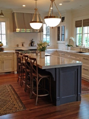 Los m s sofisticados dise os de cocinas con islas como decorar mi cuarto - Islas de cocina ...