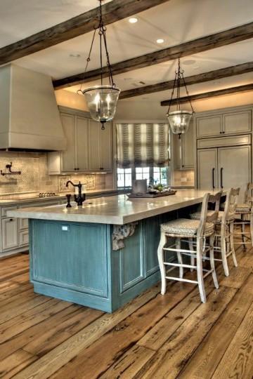 diseños de cocinas con islas modernas