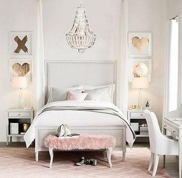 habitaciones decoradas modernas para mujer