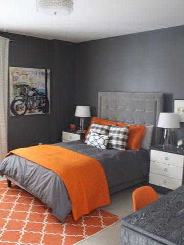 habitaciones decoradas modernas pareja