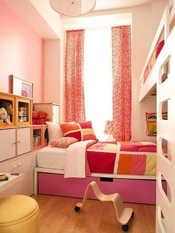 habitaciones juveniles para niñas diseño