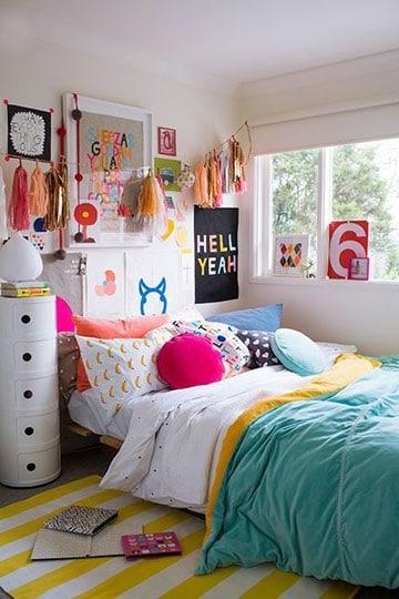 habitaciones juveniles para niñas moderna