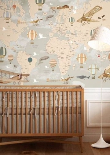 habitaciones para bebes varones 2017