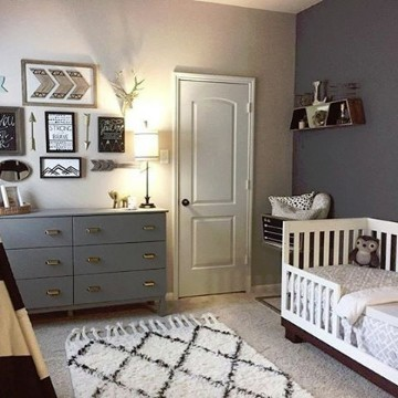 Espectaculares habitaciones para bebes varones Como decorar mi cuarto