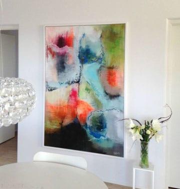 imagenes de pinturas para salas abstracta