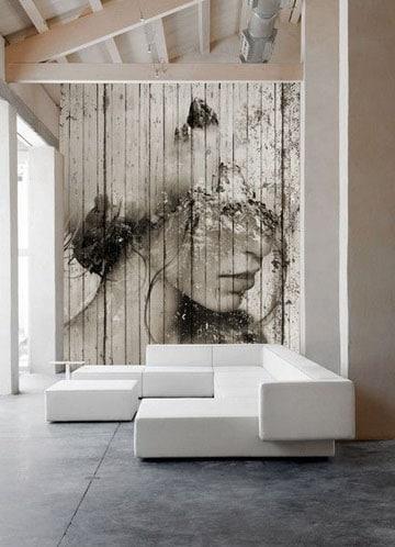 imagenes de pinturas para salas bohochic