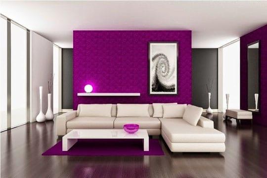 combinaciones de colores para sala elegante