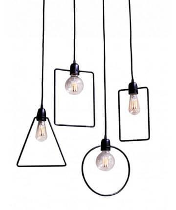lamparas colgantes de diseño de techo