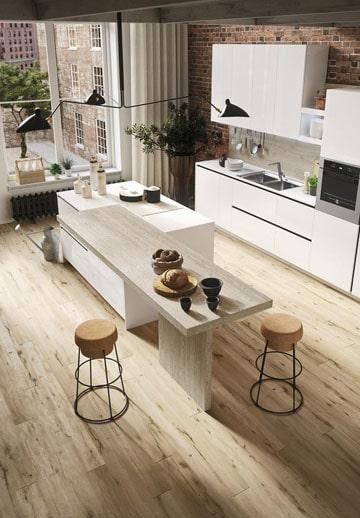 modelos de islas para cocinas moderna