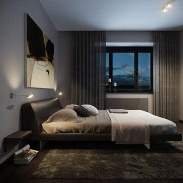 Mira estas sofisticadas recamaras para jovenes hombres Modern mens bedroom