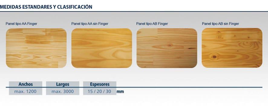 tipos de tableros de madera modelo