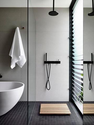 C mo lograr hermosos ba os modernos con ducha en tu hogar - Banos con ducha modernos ...