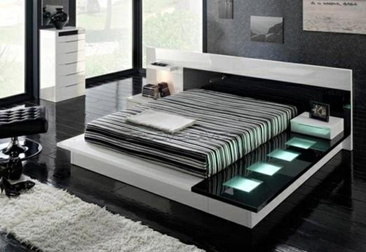 cabeceros de cama modernos minimalista