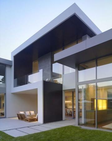 diseños de balcones para casas modernas