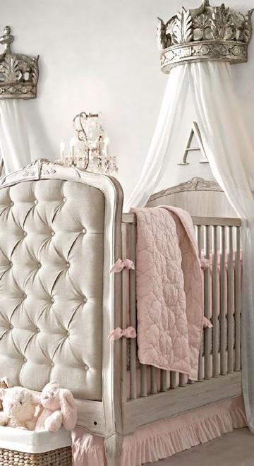 diseños de cunas para bebes princesa