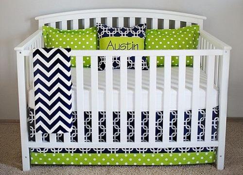 diseños de cunas para bebes varon