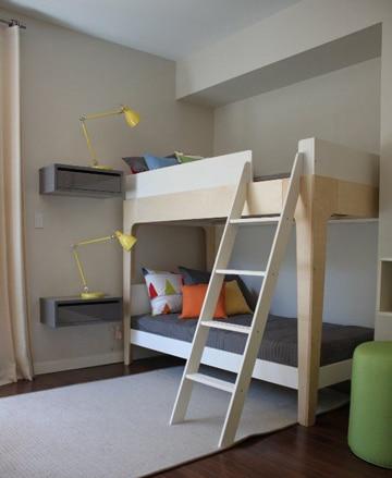 imagenes de camas de madera litera