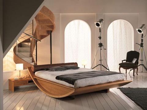 Las mejores imagenes de camas de madera de la web como - Cama moderna diseno ...