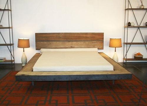 imagenes de camas de madera sencilla