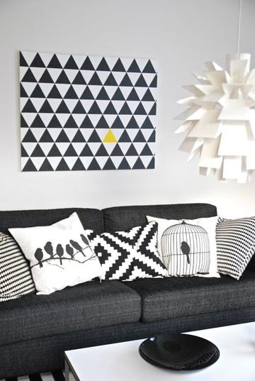 imagenes de cuadros para sala geometricos