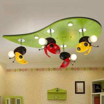 lamparas de techo infantiles coquitos