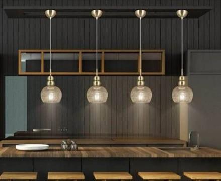 lamparas de techo para cocina moderna