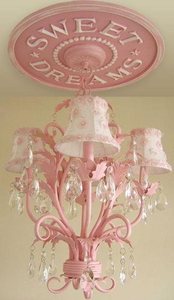 lamparas de techo para dormitorio niña princesa