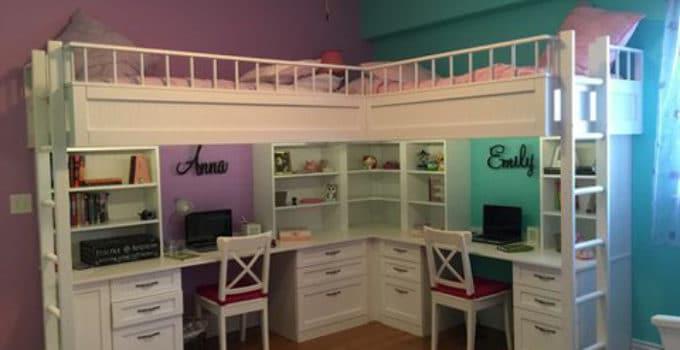 Cama con escritorio debajo colores disponibles a los - Literas con escritorio debajo ...