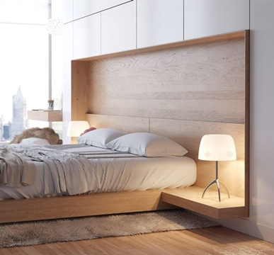 modelos de cabeceras de cama de madera