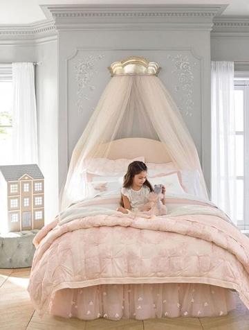 modelos de cabeceras de cama para niña