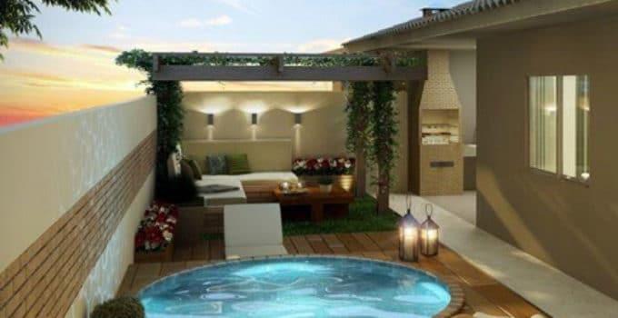 Piscinas pequeas para jardin latest piscinas pequenas for Piscinas modernas para casas pequenas