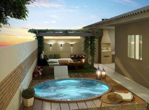 modelos de piscinas pequeñas redonda
