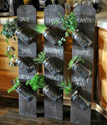 muebles de palets para cocina organizador